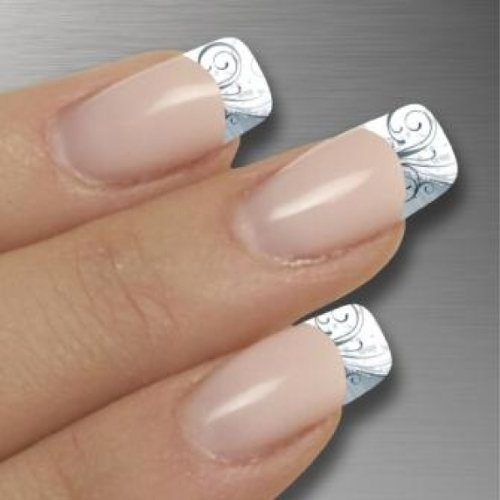NAGELFOLIEN by GLAMSTRIPES - MAGIC ICE FRENCH