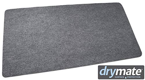 Drymate Gas Grill Mat, Premium BBQ Grill Mat - 30' x 58' - Size Extra Large Grill Pad - Contains Grill Splatter and (Protects Surface)