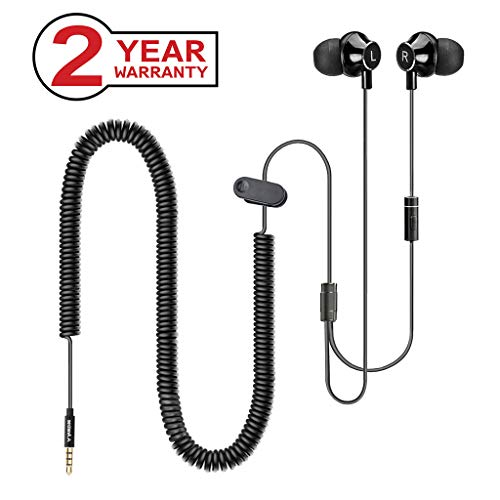 Headphones for TV with Long Cord Earbuds, 12FT/3.5...