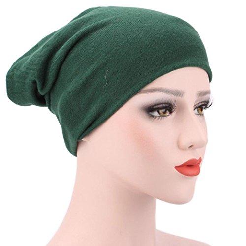 Egmy 2017 Kvinnor Muslim Stretch Turban Hat Chemo Lock Håravfall Huvud Hijib Cap E