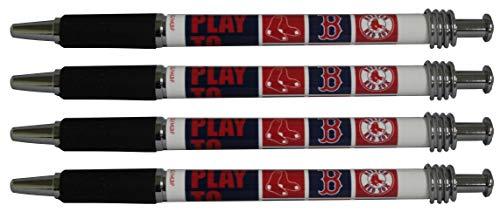 (Boston Red Sox Jazzy Pen 4pk)