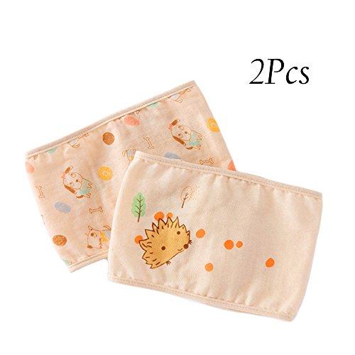 2 Pcs Baby Diaper Belly Band Wrap Cotton Infant Diaper Kids Fixed Belt (2 pcs (Fixed Wrap)