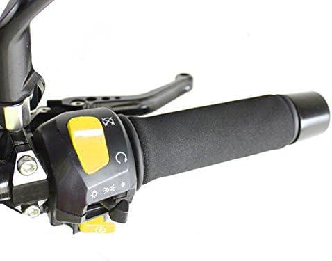 Strada 7 Motorcycle Foam Comfort Grip anti vibration Covers for Honda ST 1100 Pan European