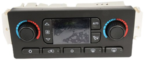 ACDelco 15-73500 GM Original Equipment Heating and Air Conditioning Control Panel with Rear Window Defogger Switch