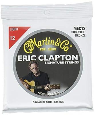 Martin Clapton's Choice Light Strings Acoustic Guitar Body (MEC12)
