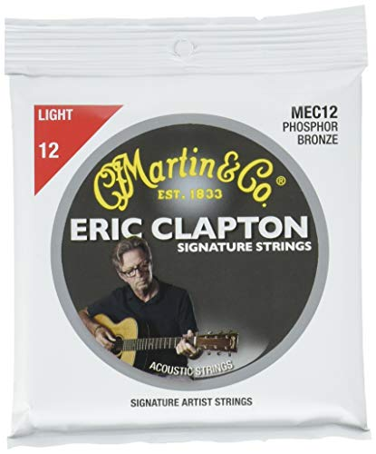 Martin Clapton's Choice Light Strings Acoustic Guitar Body (MEC12) (Best Martin Guitar Under 2000)
