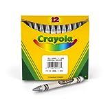 Crayola Metallic Silver Crayons, Bulk Crayons, 12