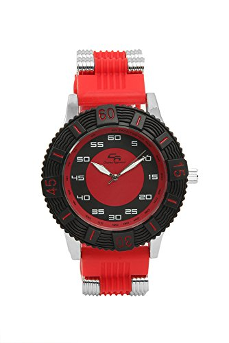 Summer Fun Sporty Diver Look Unisex Rubber Band - Charles Raymond Watches For Men