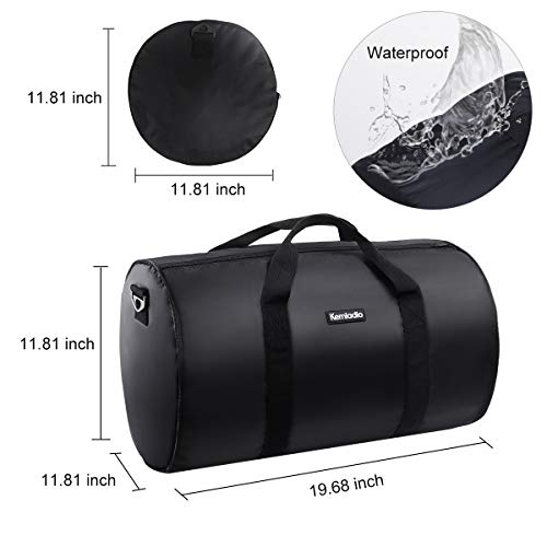 Foldable Lightweight Travel Duffle Bag, Kemladio Water Rresistant Packable Bag Luggage by Kemladio (Image #4)