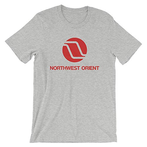 Northwest Orient Airlines Unisex T-Shirt Athletic Heather - Northwest Orient Airlines