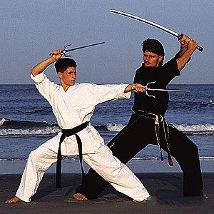 ProForce 10oz. Traditional Karate Uniform Poly/Cotton Uniform Traditional Drawstring Pants Size 1 White