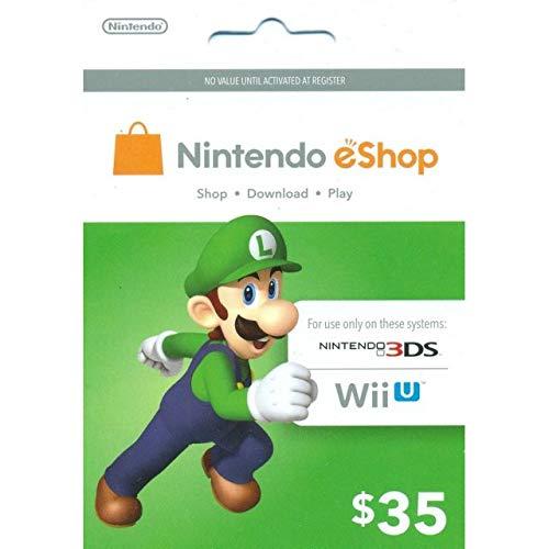 Nintendo eShop $35.00 Prepaid Card for 3DS or Wii U by Nintendo (Image #1)