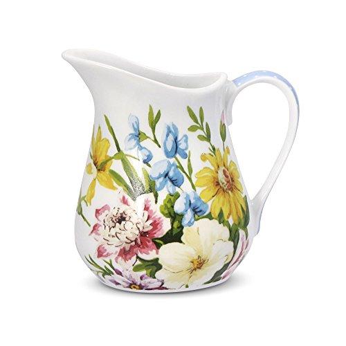 Katie Alice English Garden Creamer, 8-Ounce - English Garden Porcelain