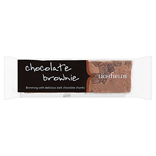 Lichfields Brownie de chocolate 65g (paquete de 18 x 65 g)