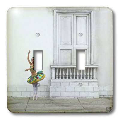 3dRose LLC lsp_10049_2 Gina, A Colombian Professional Ballet Dancer In Cartagena Double Toggle Switch