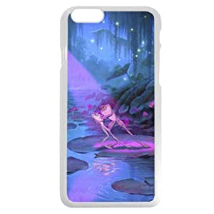 """Customized White Plastic Disney Cartoon Princess And The Frog iPhone 6 4.7 Case, Only fit iPhone 6 4.7"""""""
