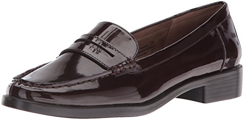 Patent Penny Loafer (Aerosoles Women's Main Dish Penny Loafer, Wine Patent, 5 M US)