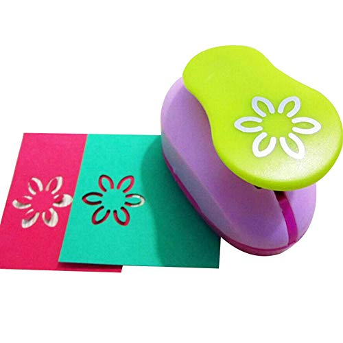 buyanputra DIY Craft Scrapbook Cards Making Paper Shaper Mini Hole Punch Cutter Toy for Kids