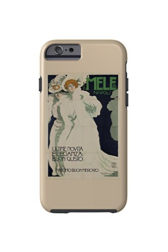Ultima Cell Phone Case (Mele and Ci - Ultime Novita Eleganza Buon GustoPoster (artist: Marcello Dudovich) Italy c. 1907 (iPhone 6 Cell Phone Case, Tough))