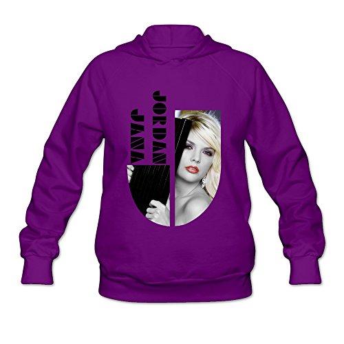 M07H Women's Sweatshirt Jana Jordan Purple Size - Jumper Foxy