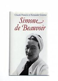 Simone de Beauvoir par Claude Francis