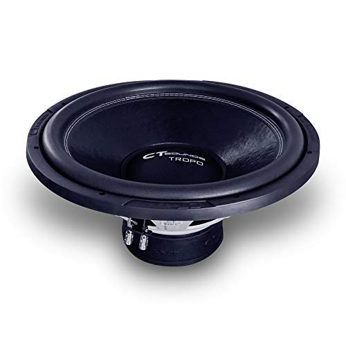 CT Sounds Tropo 18 Inch Car Audio Subwoofer 600w RMS Dual 4 Ohm