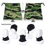 Belongtu Écharpe Military Pattern Headband Face Cover Bandana Head Wrap Scarf Neck Warmer Headwear Balaclava for Cold… 9
