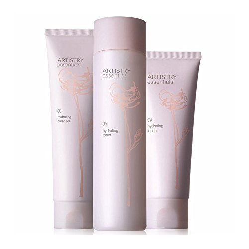 ARTISTRY Hydrating Skincare system, Cleanser Toner & Moisturiser Lotion by Amway