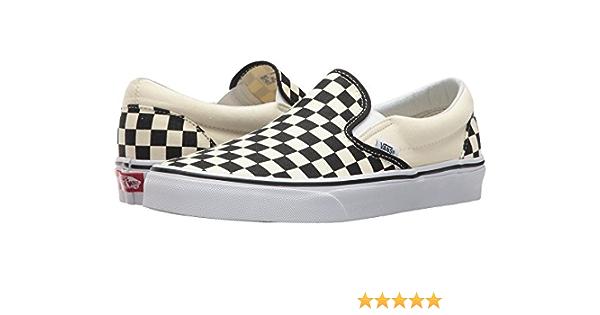 Vans Classic Slip On Black Off White