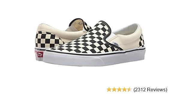5d373f5c9ad1 Amazon.com   Vans Unisex Classic (Checkerboard ) Slip-On Skate Shoe    Fashion Sneakers