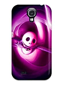 High Grade Art Marie Johnson Flexible Tpu Case For Galaxy S4 - Nightmare Before Christmas