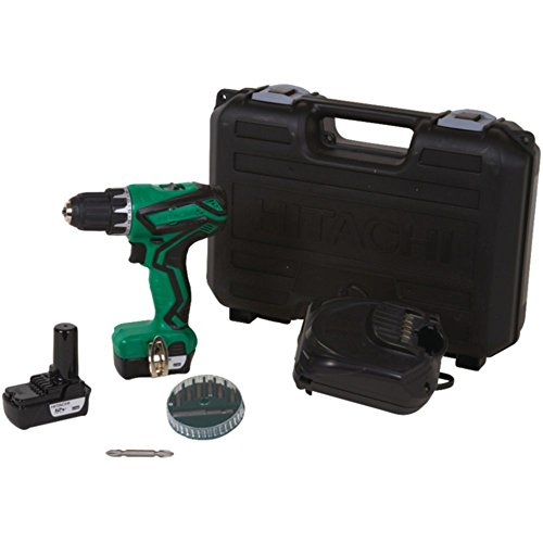 HITACHI DS10DFL2 12-Volt Peak 3/8 Driver Drill Tools , Hand Tools by Hitachi