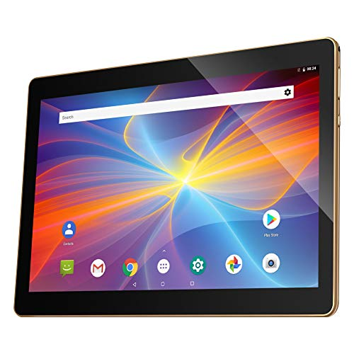QIMAOO 10.1 Inch Tablet, Android 8.1 Phablet 32GB ROM 2GB RAM with Google Play, Dual Sim Card Slots, WIFI, Bluetooth…