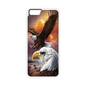 K-G-X Phone case For Apple Iphone 6 Plus 5.5 inch screen Cases Case-Pattern-10 Flying Eagles Protective Back Case wangjiang maoyi