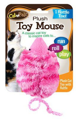 Plush Mouse Cat Toy (Pack of 36) (Pal Rattle)