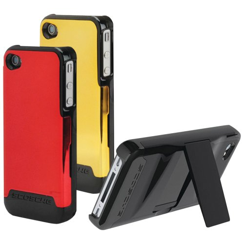 Scosche IP4K2D2V Polycarbonate Case with Interchangeable Backs for The New iPhone 4S and iPhone 4 (Verizon and AT&T)