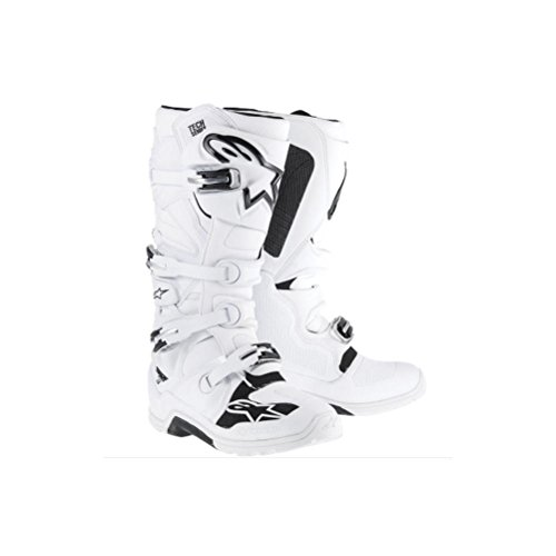 Alpinestars Tech 7 Enduro Men's Off-Road Motorcycle Boots - White / 10