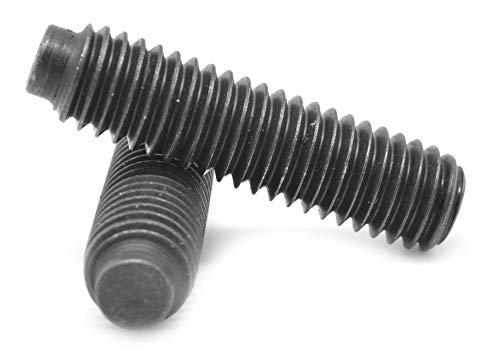 5//16-24 x 3//4 Fine Thread Socket Set Screw Cup Point Alloy Steel Black Oxide Pk 25