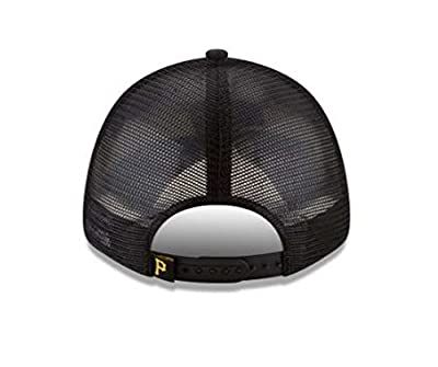 New Era MLB Pittsburgh Pirates Trucker 9Forty Adjustable Baseball Hat 11591195