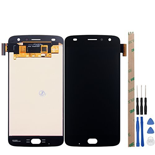 HYYT For Motorola MOTO Z2 Play LCD Digitizer Screen Replacement LCD Display and Touch Screen (Black)
