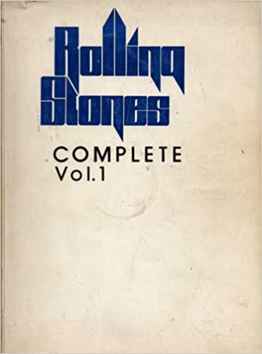 Rolling Stones Complete (SHEET MUSIC, Volume 1 and 2
