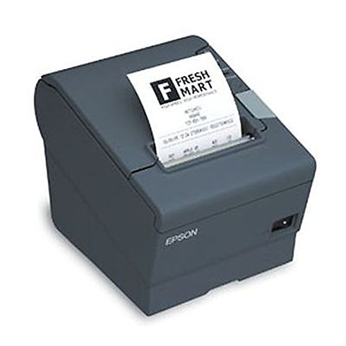- Epson C31CA85779 TM-T88V Thermal Receipt Printer OmniLink T88V-I Intelligent Printer 80mm Power Supply US Cable Dark Gray