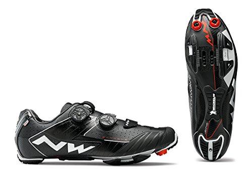 Northwave Extreme XC bicicleta de montaña guantes negro 2018