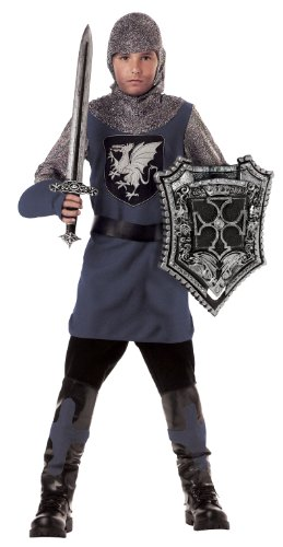 Valiant Knight Childrens Costumes (California Costumes Toys Valiant Knight, Small)