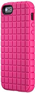 Speck Products PixelSkin Rubberized Case for iPhone 5 & 5S  - Raspberry Pink