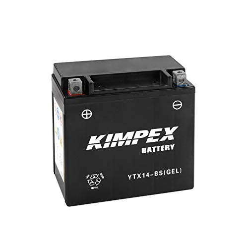 - Kimpex Battery Maintenance Free AGM YTX14-BS(GEL)