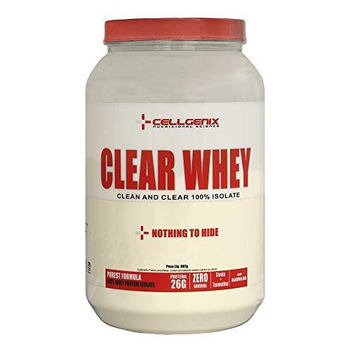 Whey Protein 100% Isolate Clear 907g - Baunilha - Cellgenix