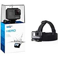 GoPro HERO (2018) with Head Strap Camera Mount for GoPro