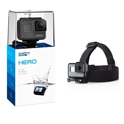 Gopro Hero  2018  With Head Strap Camera Mount For Gopro