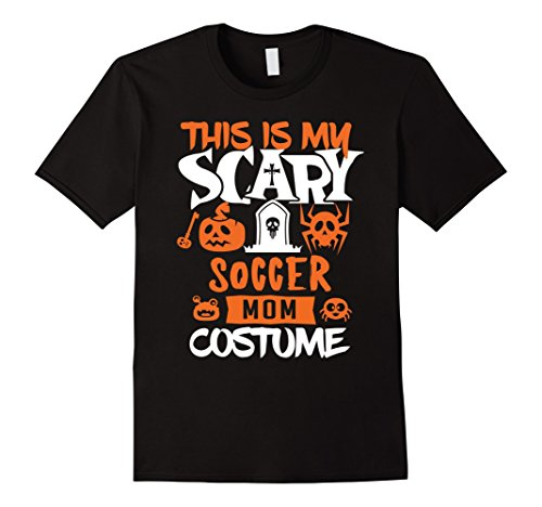 Mens Soccer Mom Scary Halloween Costume Party T-Shirt Small Black for $<!--$17.99-->